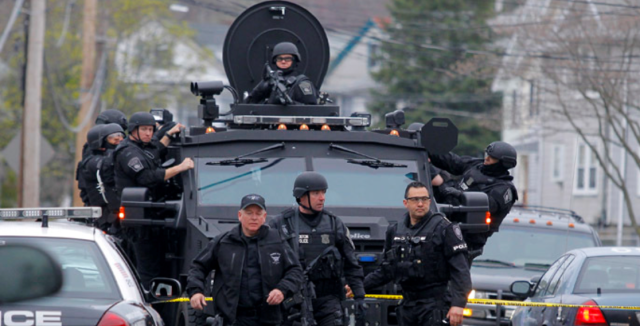 'It's a warzone in the US': Indiana sheriff explains why he deployed heavy armor in his county