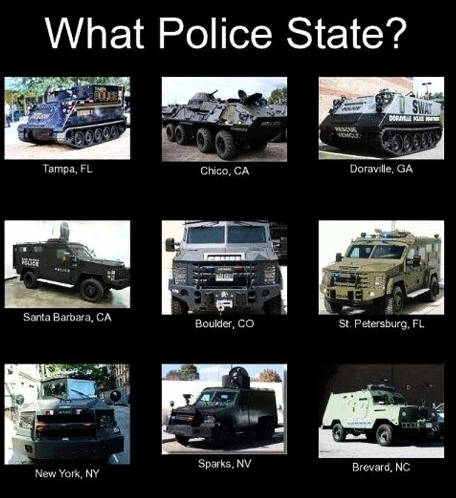 What Police State?