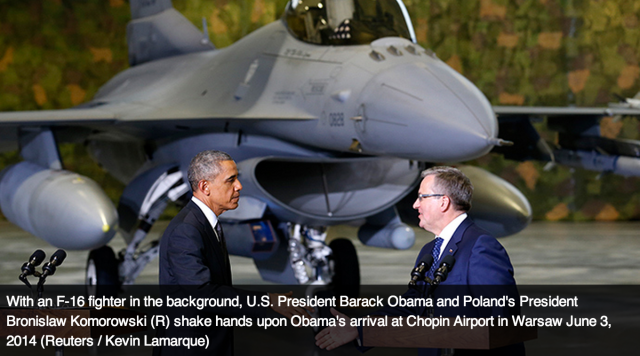 Obama pledges $1bn for more troops, military drills in E. Europe