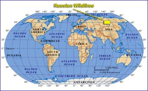 Wold Map Russian Wildfires 7-14-2014